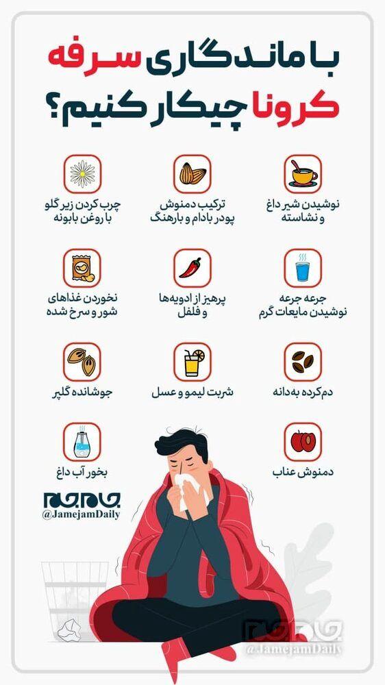 درمان سرفه های کرونایی