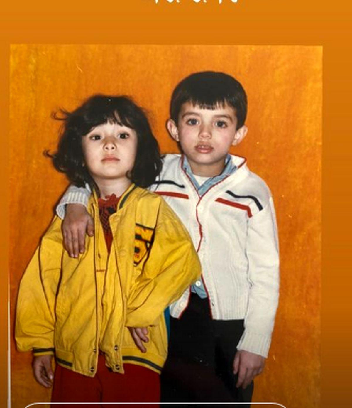 بهاره افشاری عکس مادرش را منتشر کرد/ عکسهای کودکی بهاره افشاری