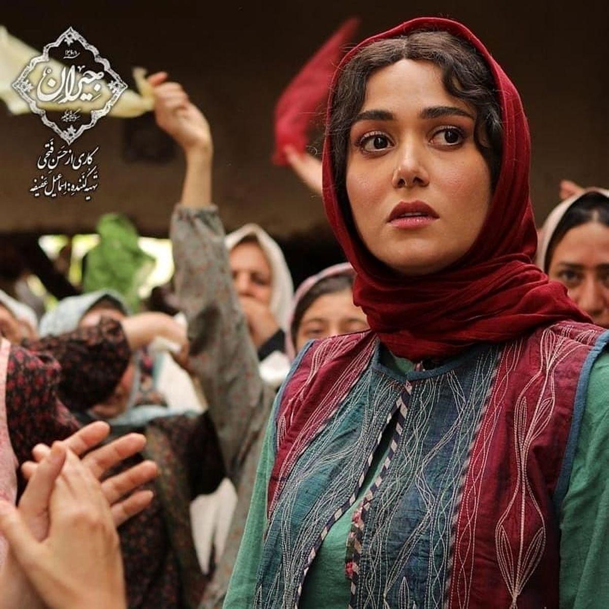 عکسهای زیبا از بازیگران زن در پشت صحنه سریال جیران